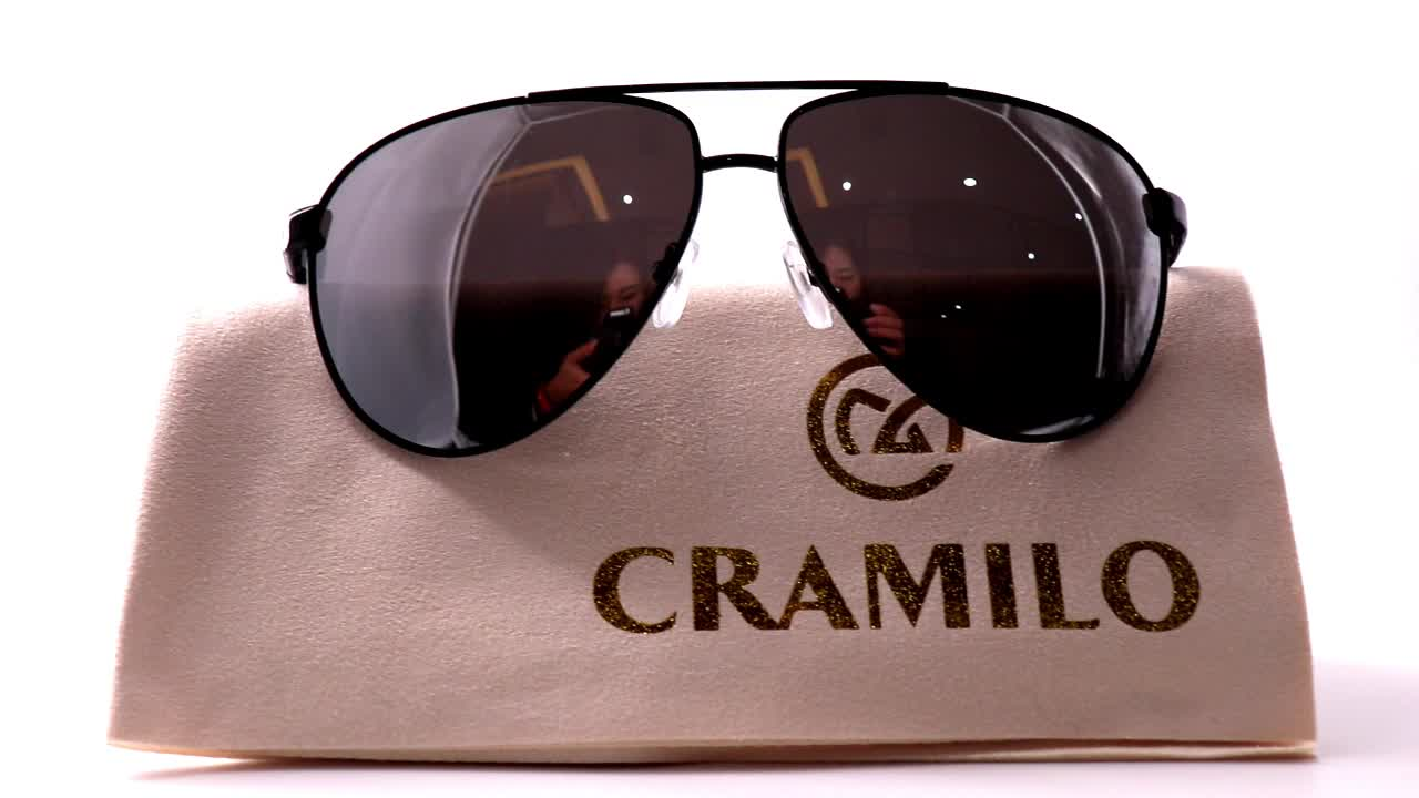 New designed style sunglasses polarized cool metal sunglasses for men