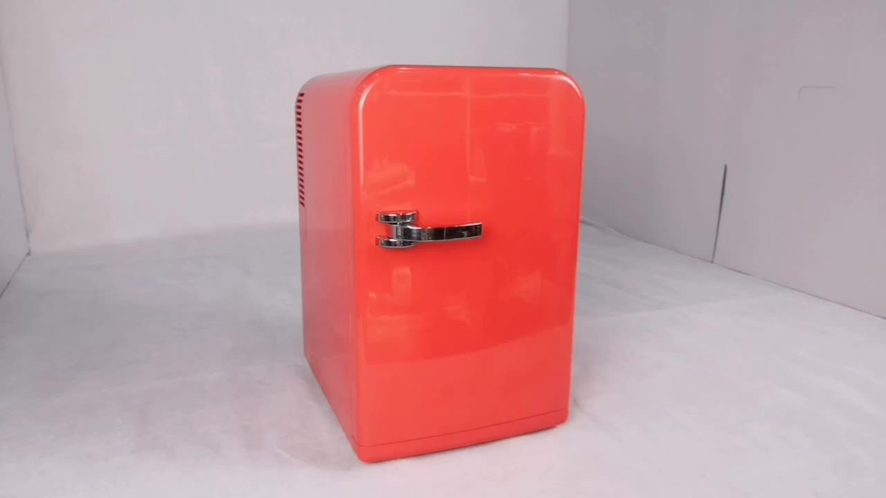 Thermoelectric Compact Portable Mini Fridge Cooler and Warmer For Home Office Car Dorm or Boat