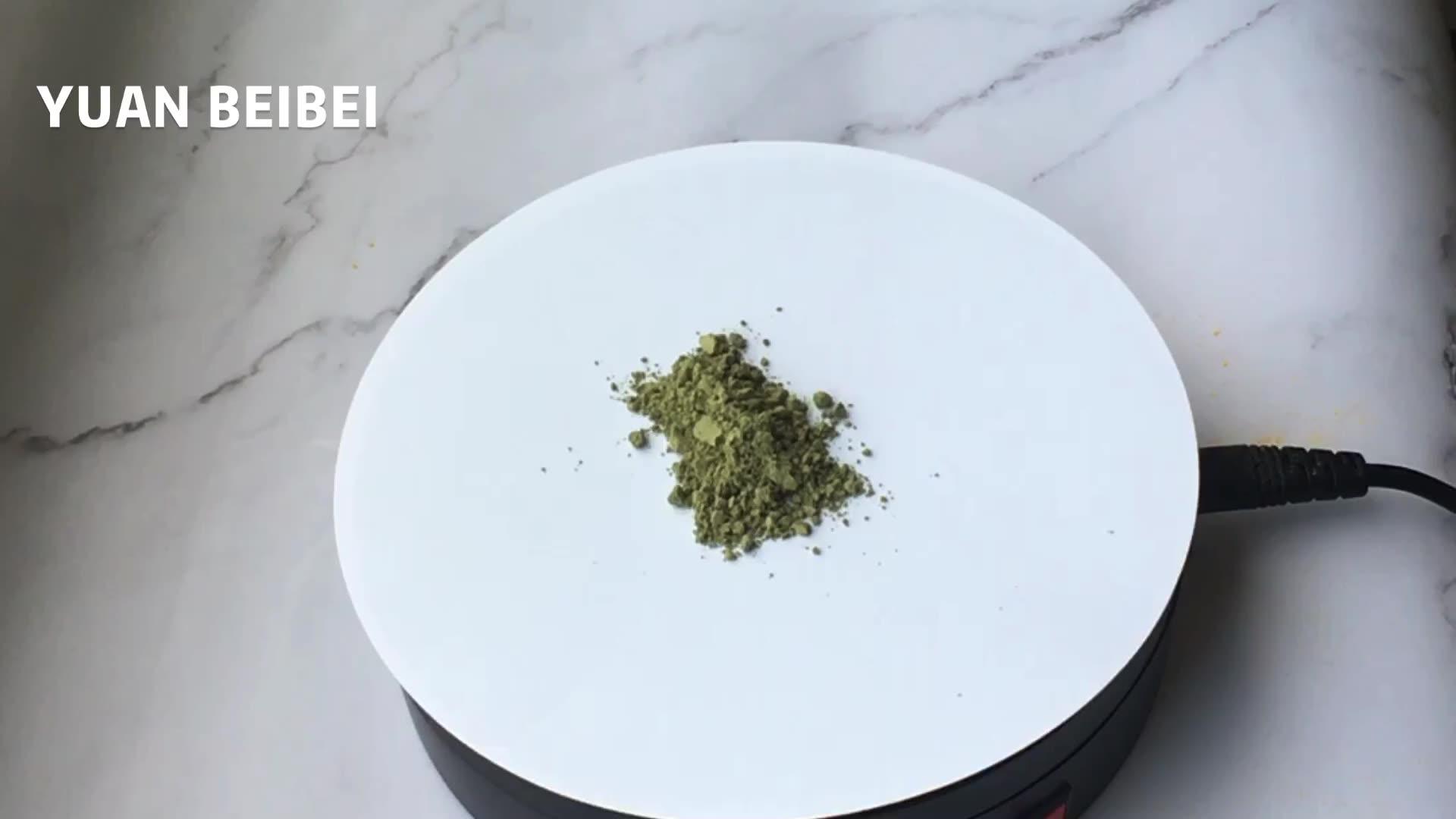 100% pure Freeze dried Organic green tea matcha ice cream powder