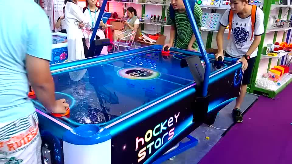 Funny Amusement Multi pucks Indoor Sports coin Operated Universe Air Hockey Star Table Arcade Game Machine For Sale