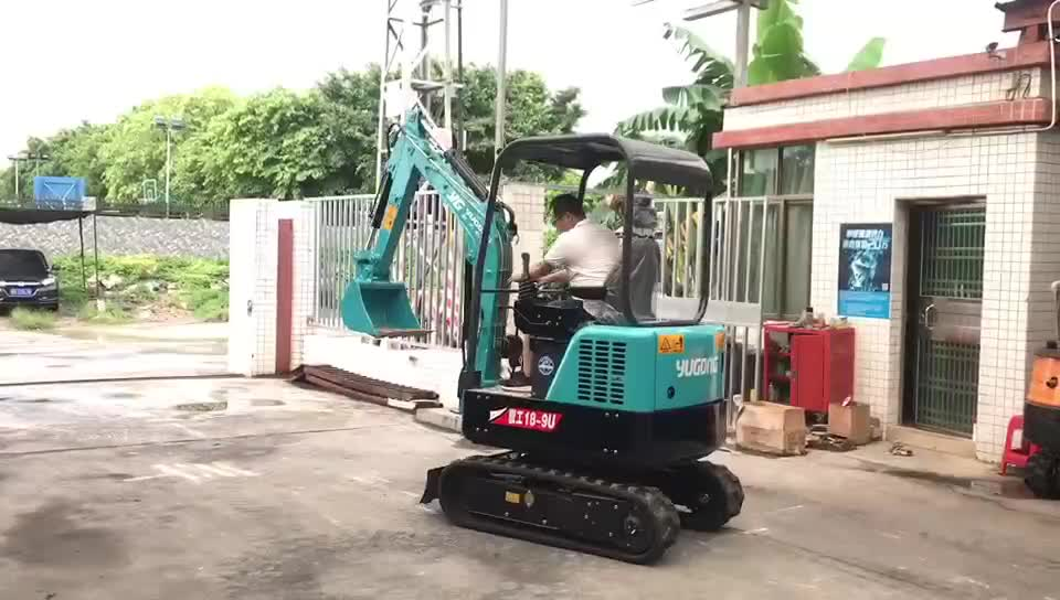 1T 1.8T 2T 2.7T 3T 3.5T Small Digging Machine Mini Excavator for Garden