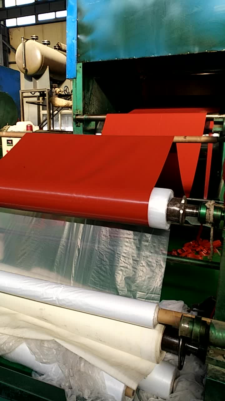 1mm to 50mm thickness gasket material Red SBR rubber sheet Roll With ISO certificated