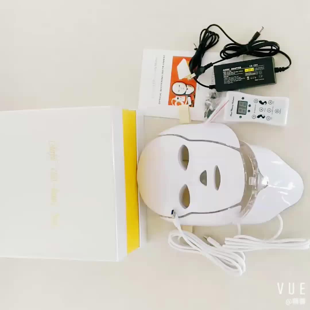 PDT viso terapia della luce di bellezza della pelle maschera per il viso led