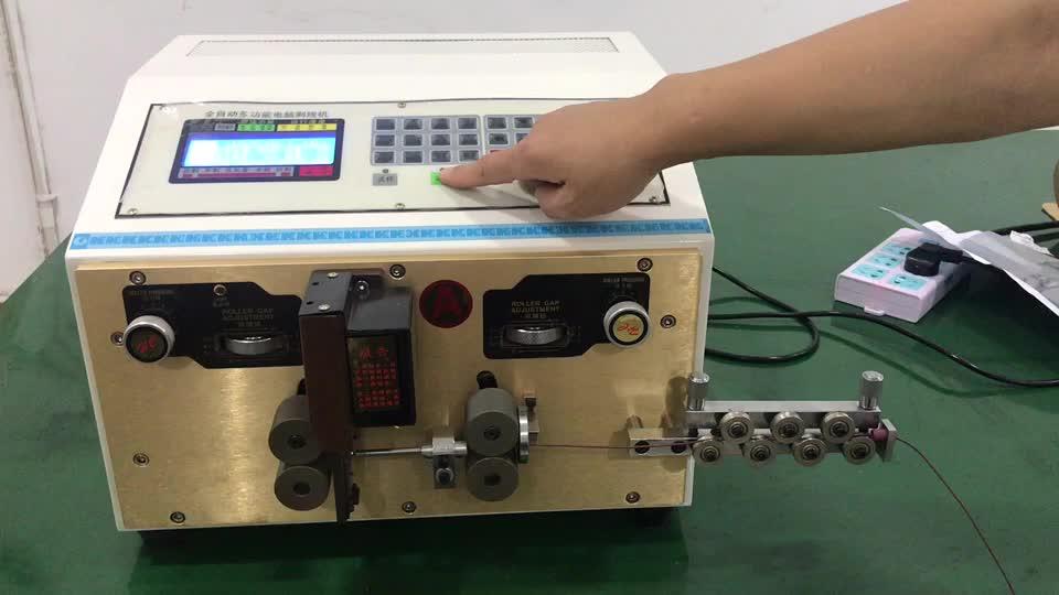 HC-515A Electric Copper Pemotong Kawat Pengupasan Mesin Otomatis Kawat Pengupasan Mesin Kabel Pengupas/Debarker