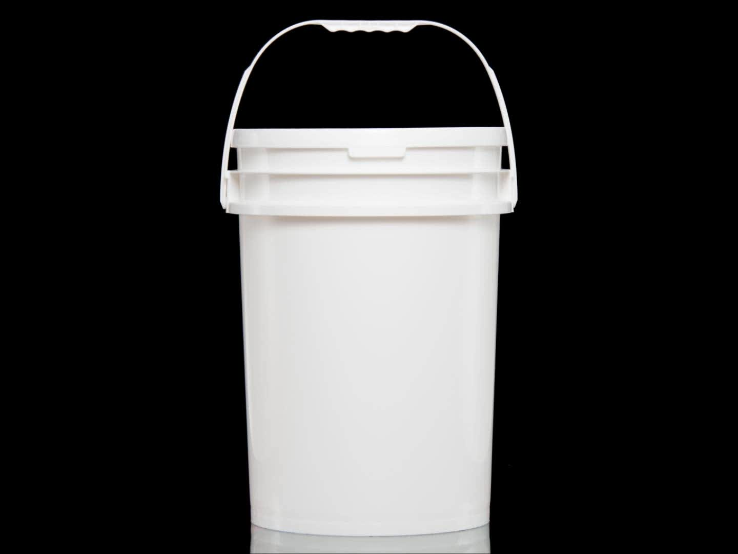 sealing technology 5.5 to 6gal plastic bucket