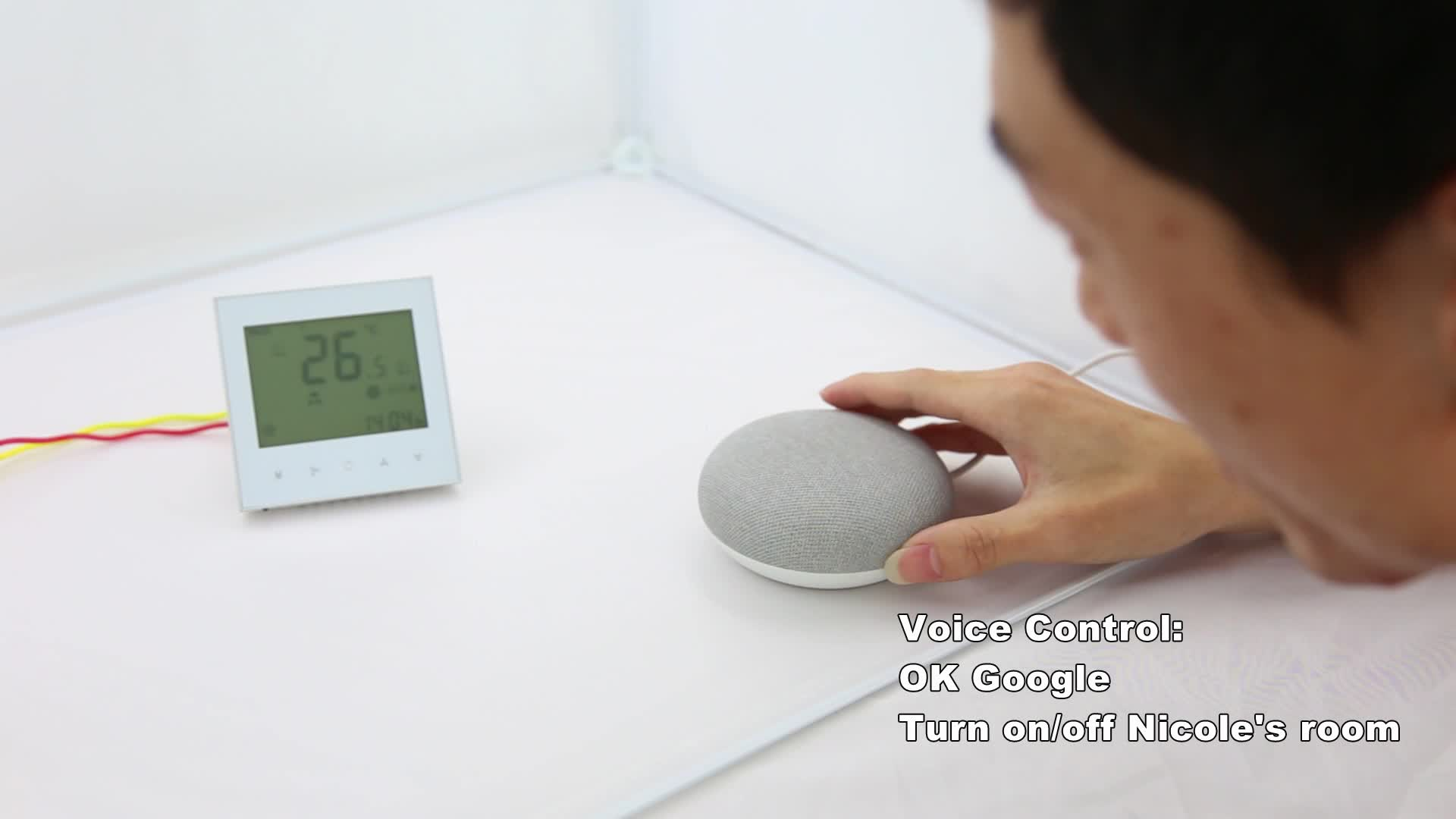 BHT-2000GALW Chauffage À Écran Tactile WIFI Thermostat D'ambiance