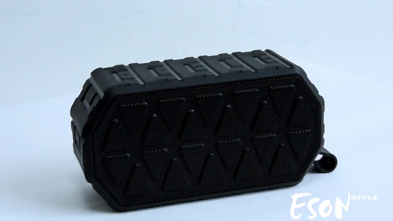 Eson Style new arrivals best sellers waterproof IP66 resistant portable wireless exclusive rogers Bluetooth speakers