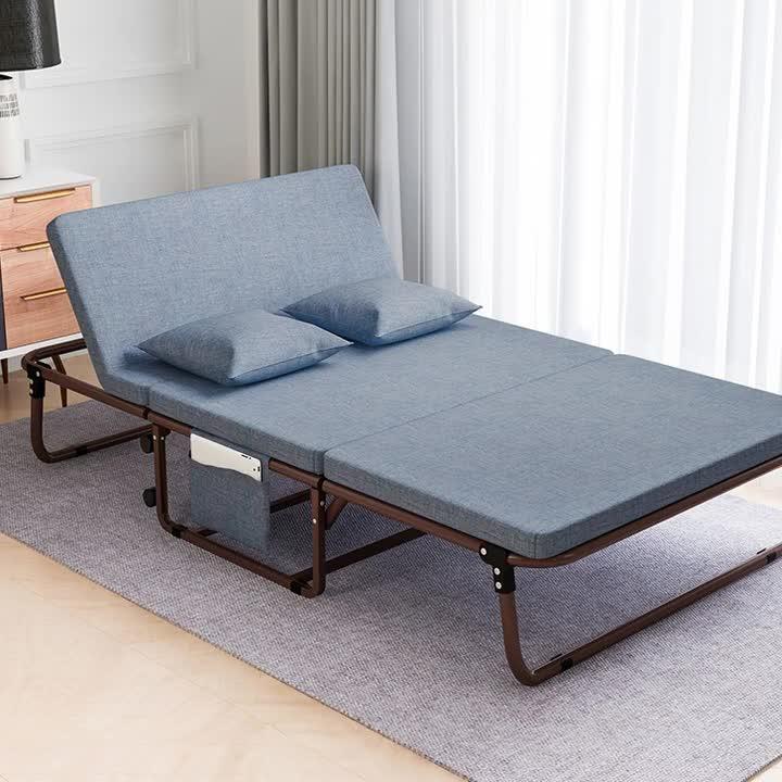 बहु समारोह घर कार्यालय झपकी वयस्क एस्कॉर्ट अग्रसर वयस्क कुर्सी समायोज्य सोफे बिस्तर छात्रावास तह बिस्तर कीमत