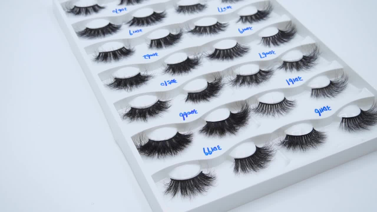 Premium Lovely Luxury Soft 3D Real Mink Fur Strip Eyelash
