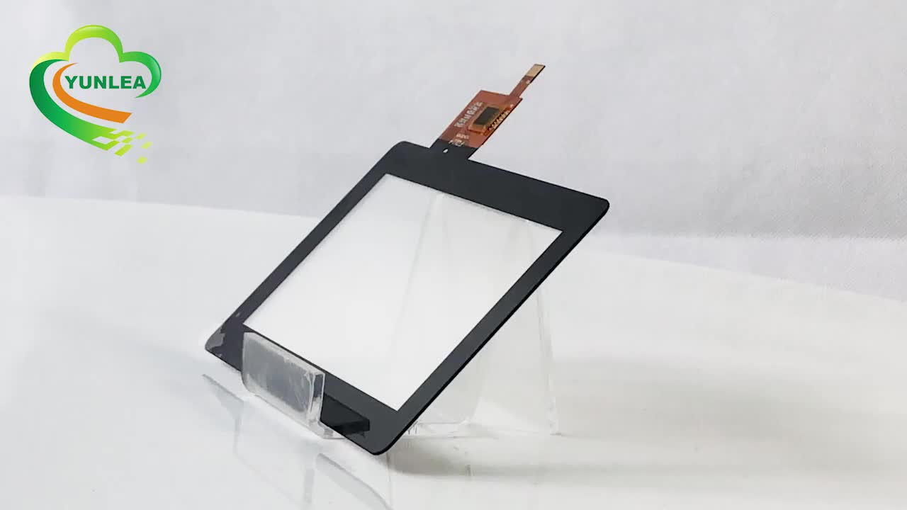 480*272 resolution new 4.3 inch small size capacitive touch screen panel