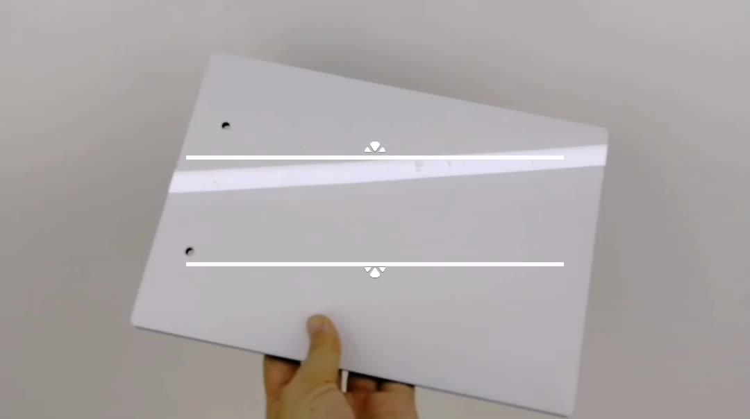 会社土産カスタムプリントクリップボード木製ライティングボードパッド A4 サイズ金属ファイルクリップ
