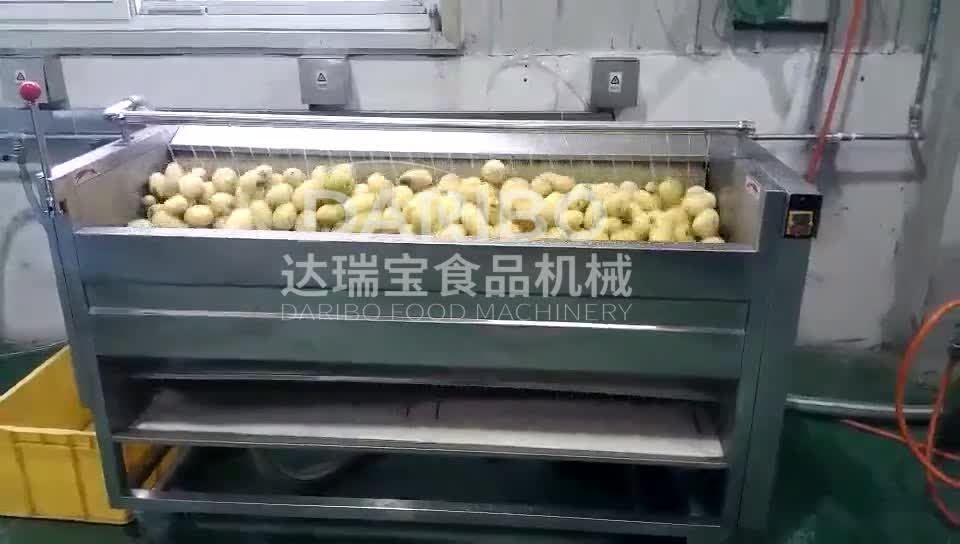 DRB-MG800 Industrial Root Vegetable Peeling and Washing Machine with Big Capacity