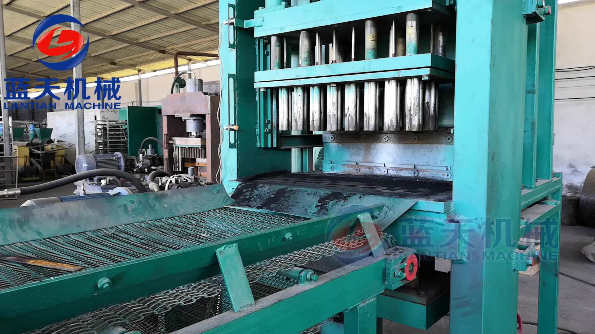 Waste Bagasse Hydraulic Sawdust Charcoal Briquette Press Machine Philippines