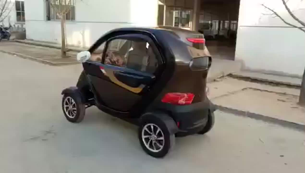 China new design front 1 rear 2 seats long range mini electric vehicle