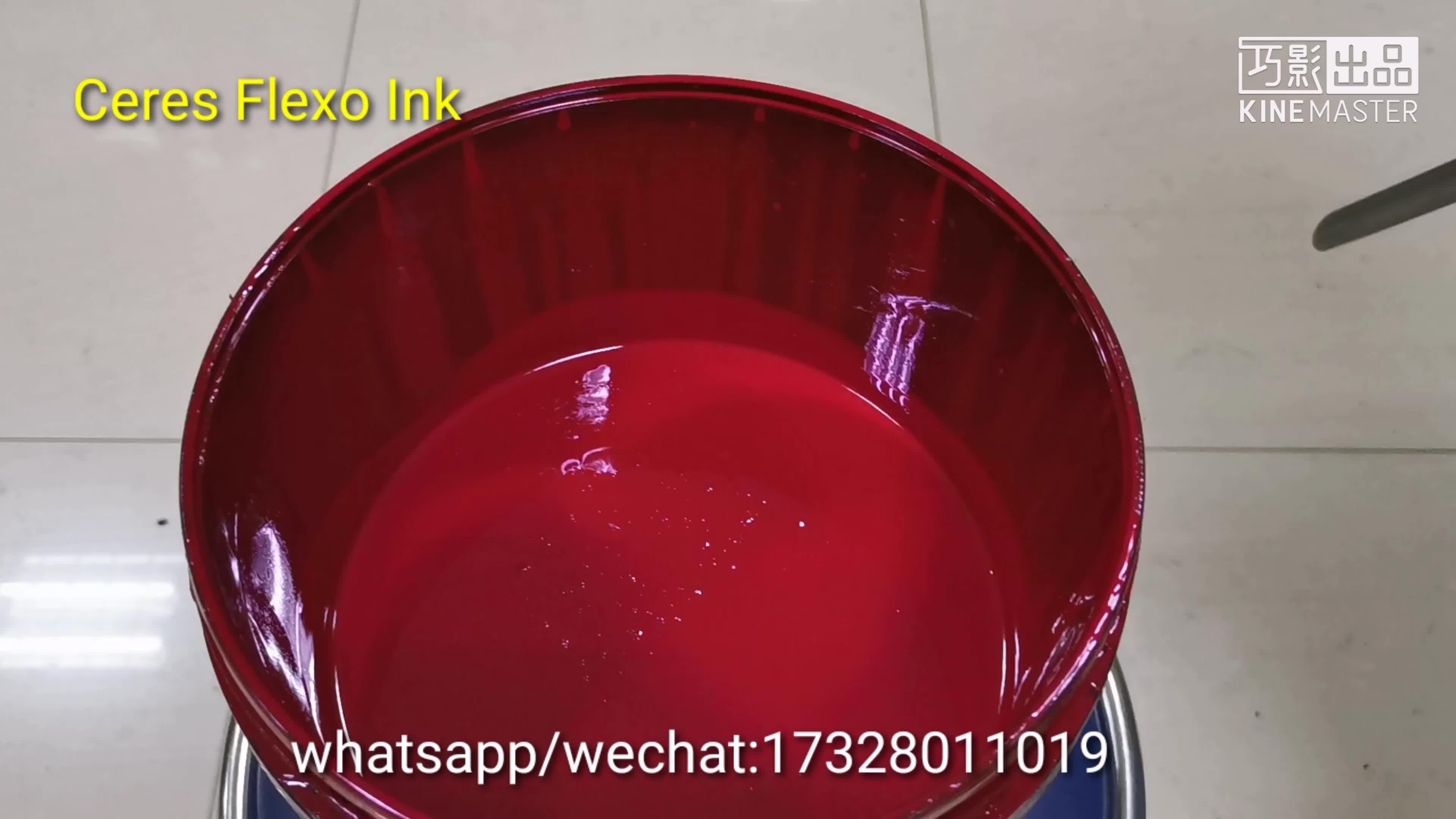 China de Boa qualidade de impressão flexo uv máquina de impressão de etiquetas Adesivo UV tinta flexo