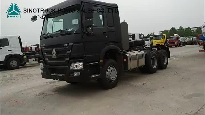 Se CNG TractorTruck HOWO A7 China camión Tractor sinotruk venta