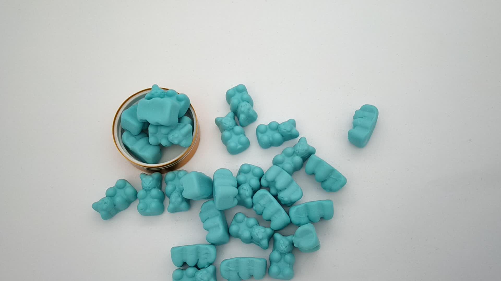 OEM Biotin Bổ Sung Tóc Vitamin Gấu Pectin Gummy