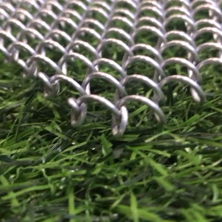 Dekorative Aluminium Kette Link Metall Mesh Vorhang