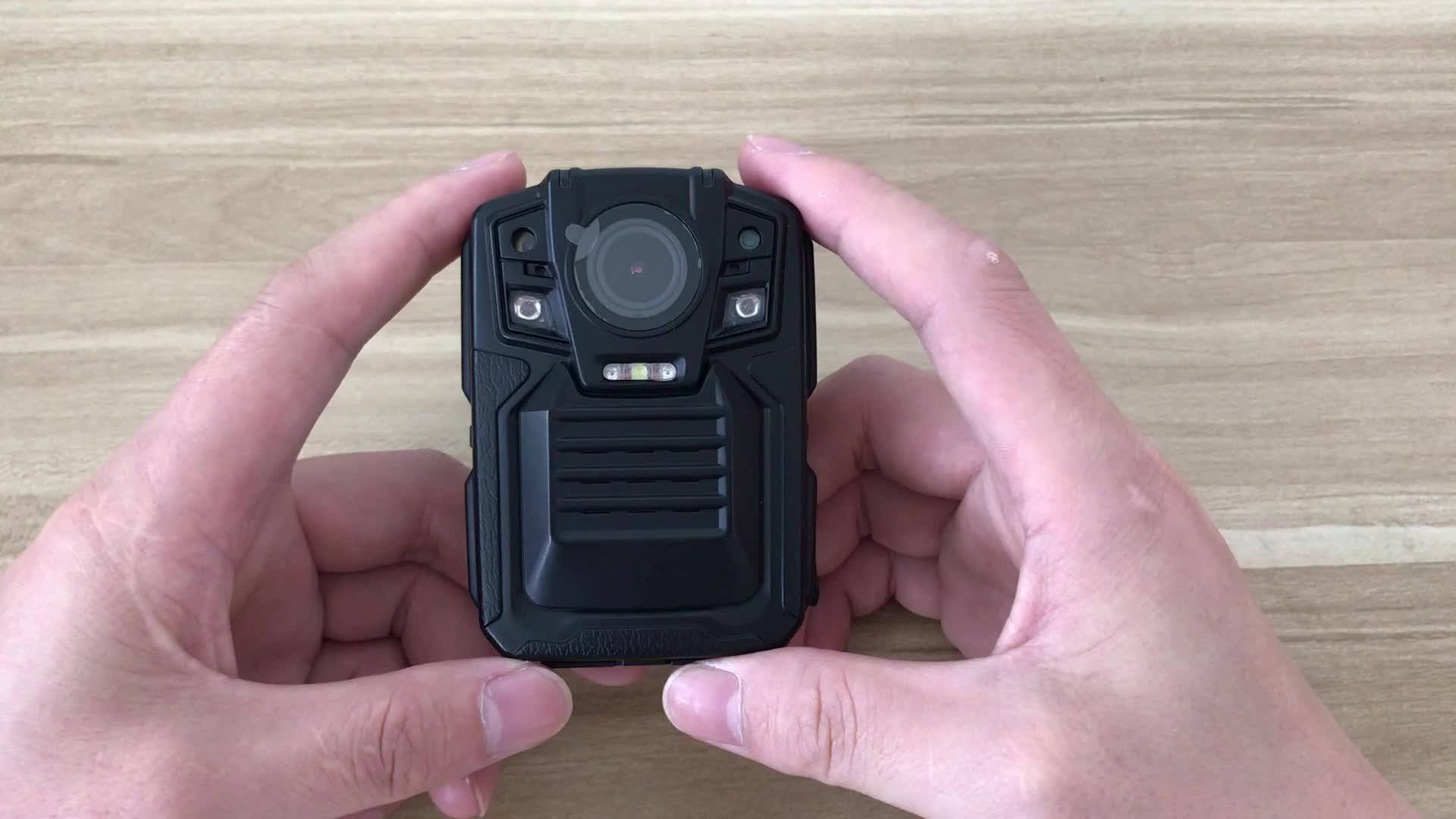 Android6.0 OS, 4G Nano SIM kart, Gerçek zamanlı, Polis için 4G Vücut Kamerası