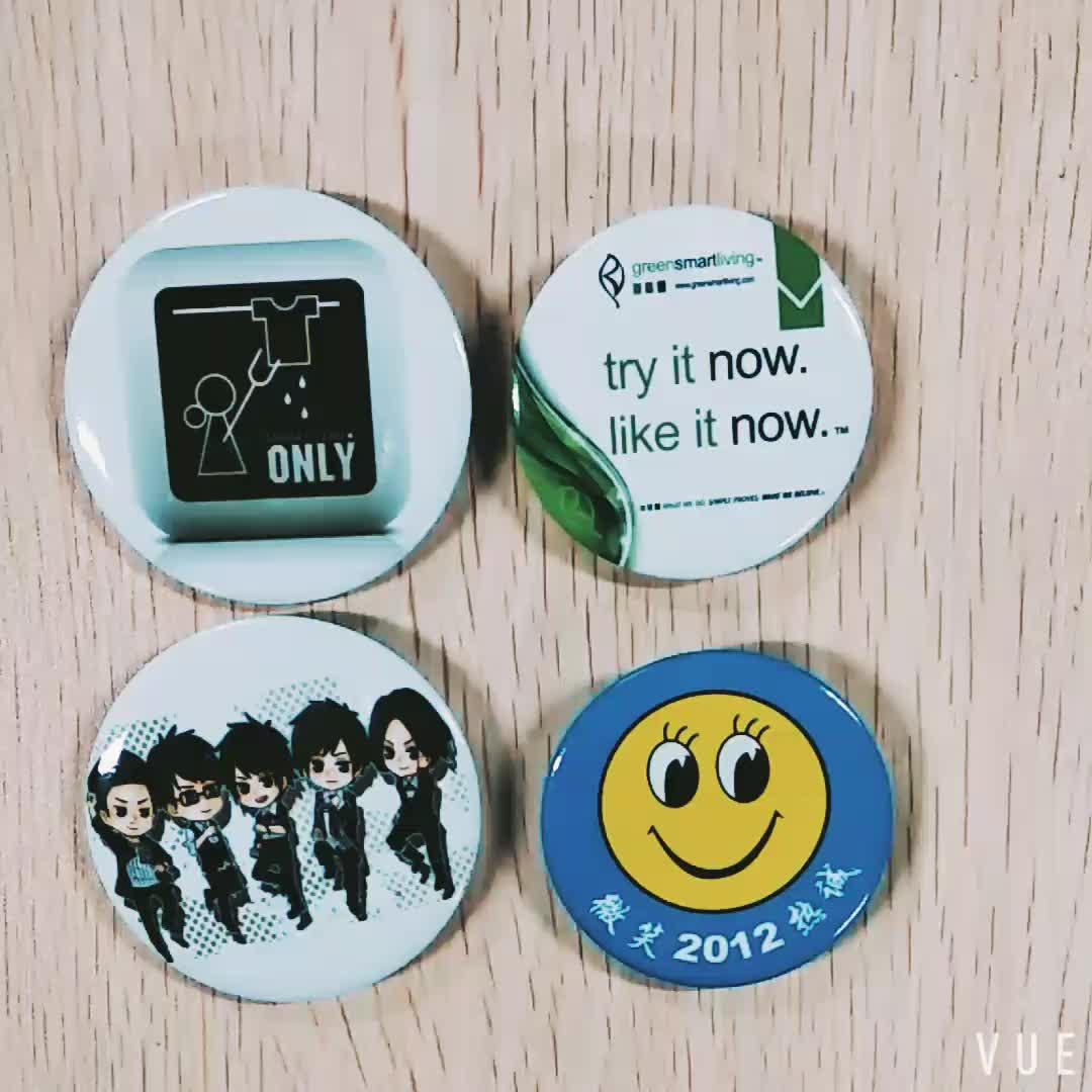 2018 promotional custom durable pin badge tinplate badge