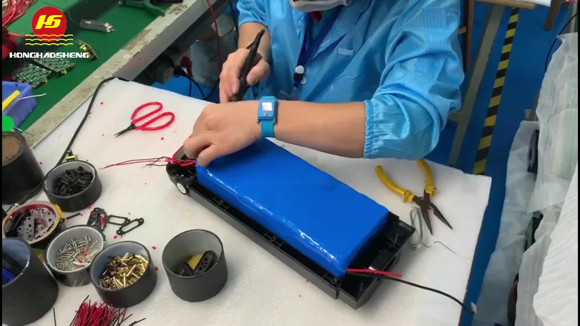 Cassa di batteria agli ioni di litio 24 v 12 v 48 v 100Ah per autovetture e ups