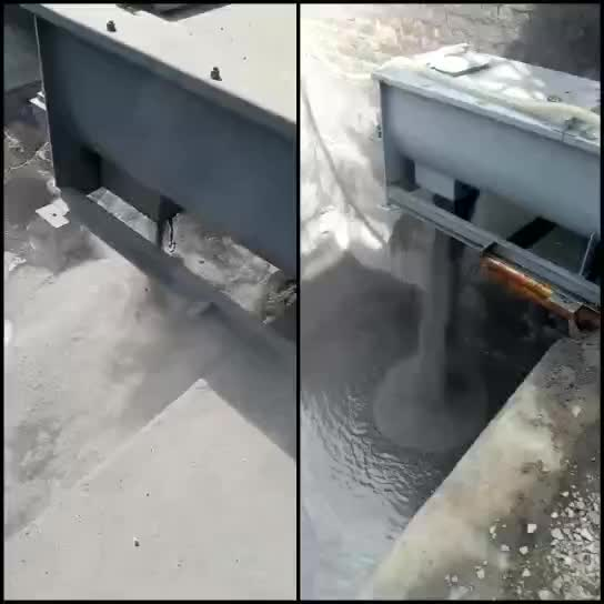 Double shafts  fly ash  dust  humidifier  Used for transporting dust under the dust collector hopper