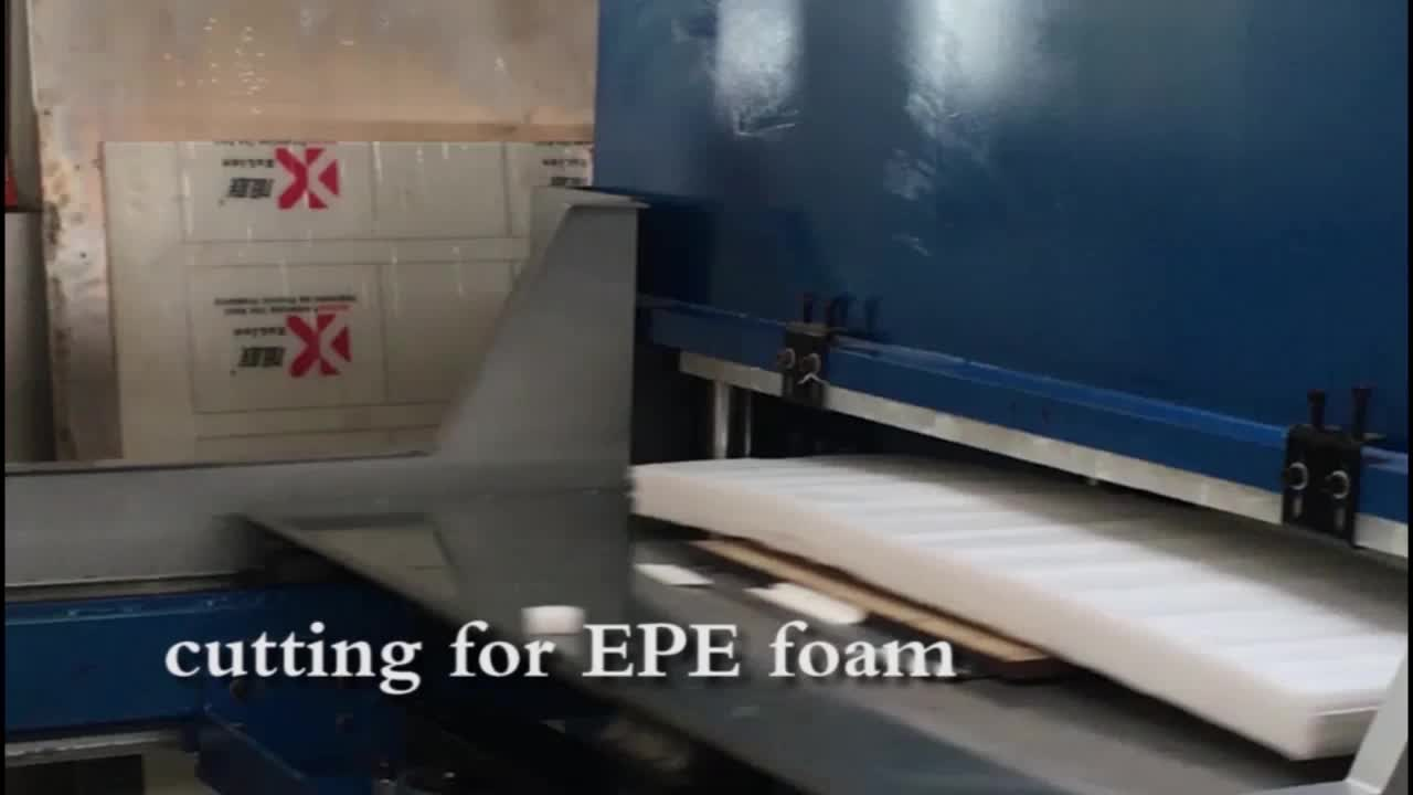 2019 hot verkoop eva foam vel snijden/eva vel making machine