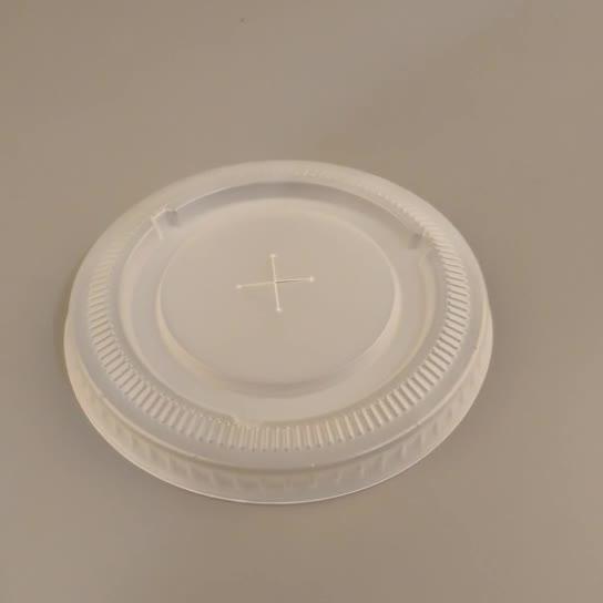 Venta al por mayor respetuoso del medio ambiente de café de plástico tapa Universal desechables tapa de la taza