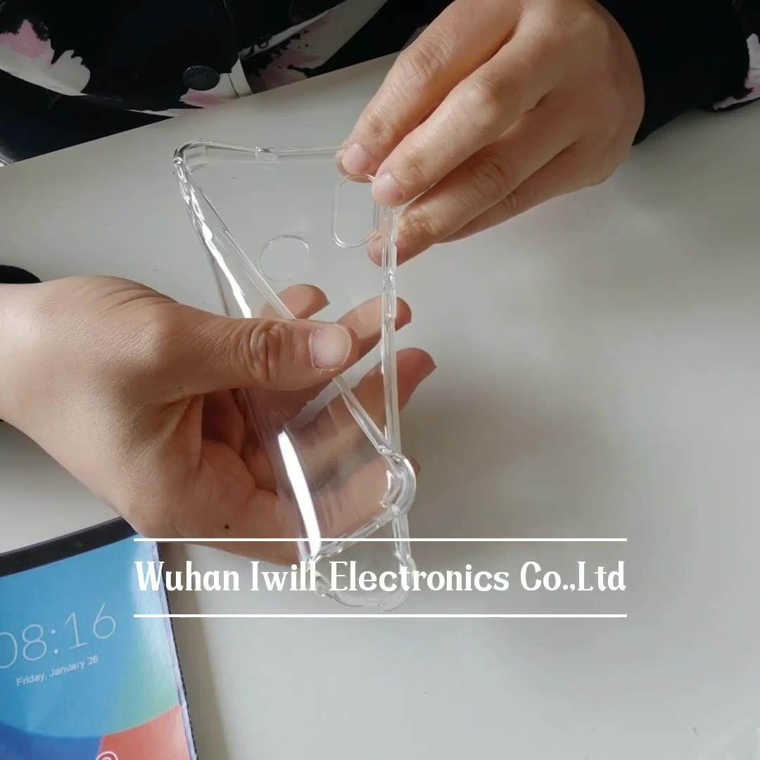 Ultra clear transparent shockproof tpu case for Huawei Enjoy 20 soft back cover for Enjoy 20