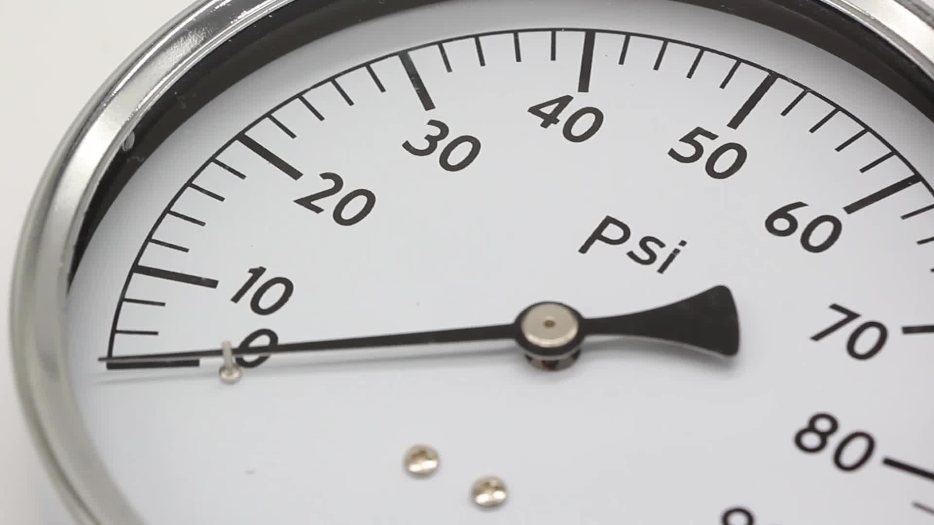 Vacuum Pressure Gage Use No Oil Gas Pressure Gauge