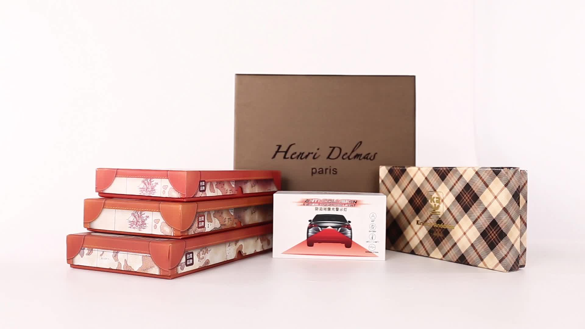 Factory High Quality Custom Logo Printing Gift Package Luxuy Bow Tie Packaging Box
