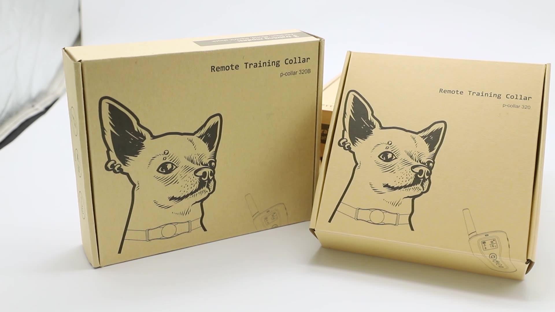 Atacado Personalizado colar do treinamento para cães Sem Colarinho Cão Latir Sem Baterias de Choque Elétrico Para Animais de Estimação
