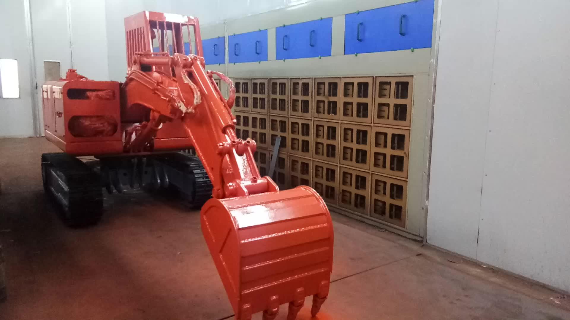Miniera uso mini escavatore digger per tunnel sotterraneo