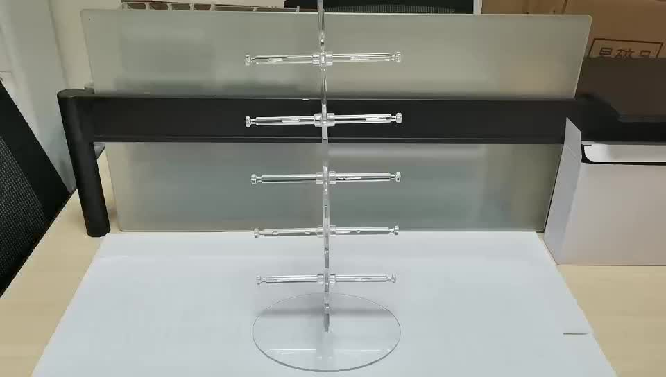Factory Price Direct Sell Fashion Acrylic Tree Shape Eyeglasses Stand Holder Sunglasses Display Sunglass Rack