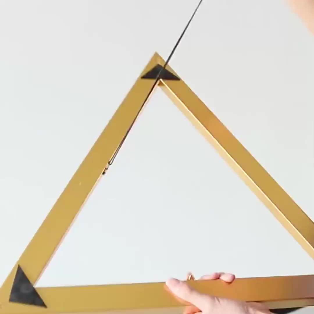 แปดเหลี่ยม Nordic สาวเจ้าหญิงห้อง INS สไตล์ Creative ห้องนอนห้องนอนภาพวาด