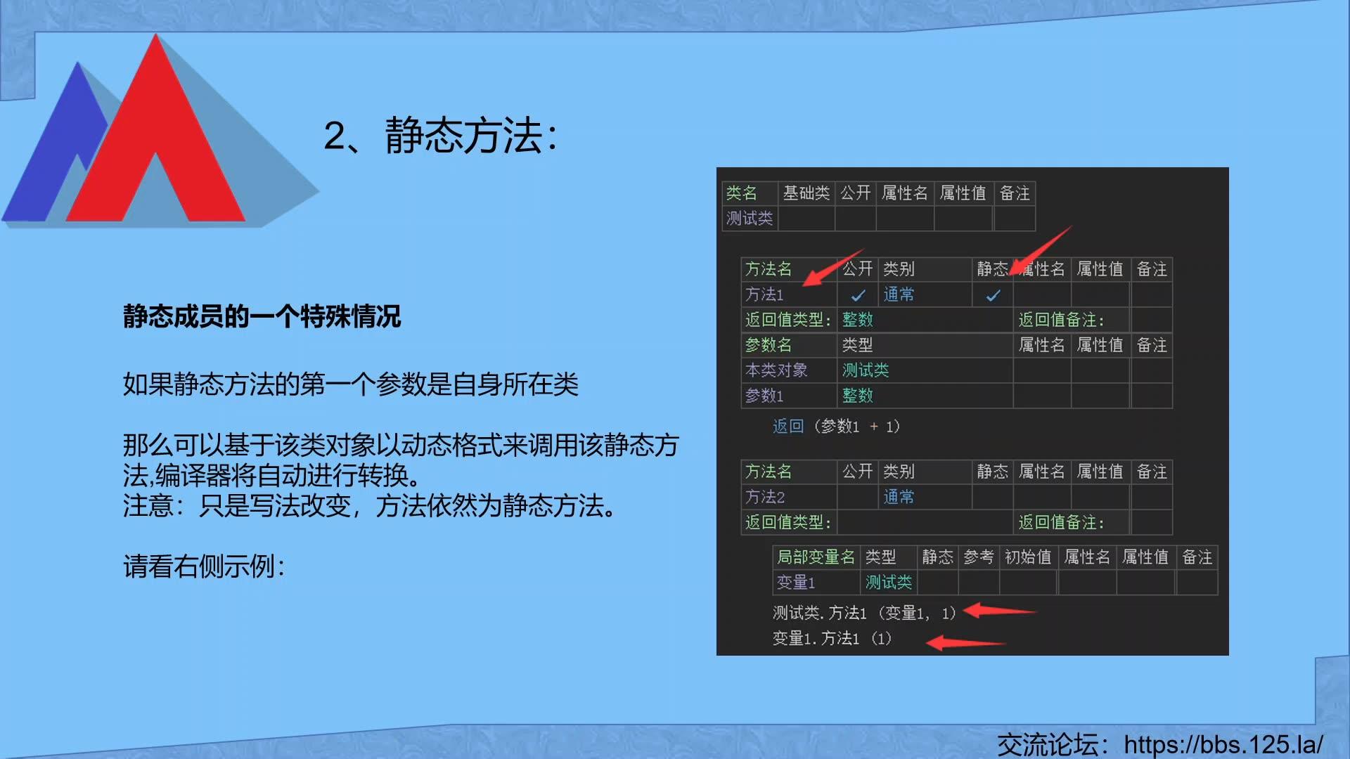 8、方法子程序