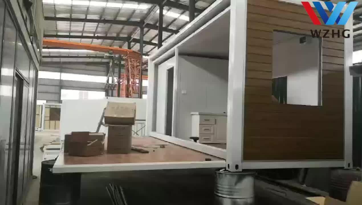Ucuz çin çelik çerçeve prefabrik konteyner ev/modüler konteyner evler prefabrik evler