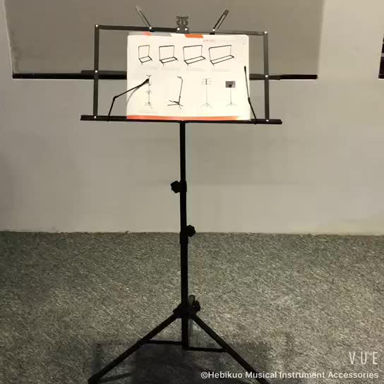 p 02 hebikuo cheap adjustable folding metal iron sheet music stand round tube buy music stand. Black Bedroom Furniture Sets. Home Design Ideas
