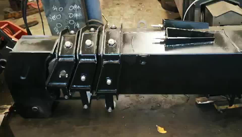Telescópica grúa hidráulica diseño de pluma de 5ton recto Boom para camión grúa
