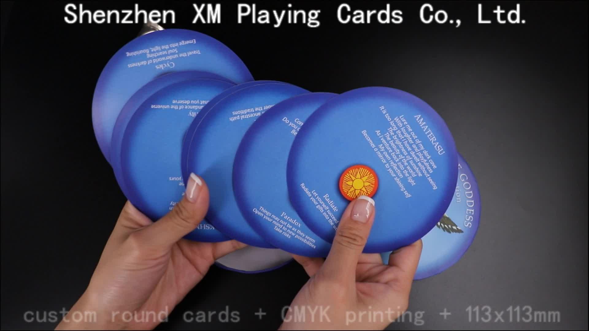 Custom Oracle Card Tarot Cards Decks Wholesale Customised