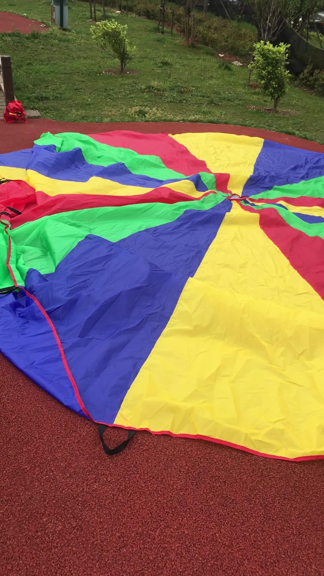 Regenbogen Kinder Spielen Fallschirm, indoor spiele kinder spielen-DIA.1METER, 3,5 M, 5M