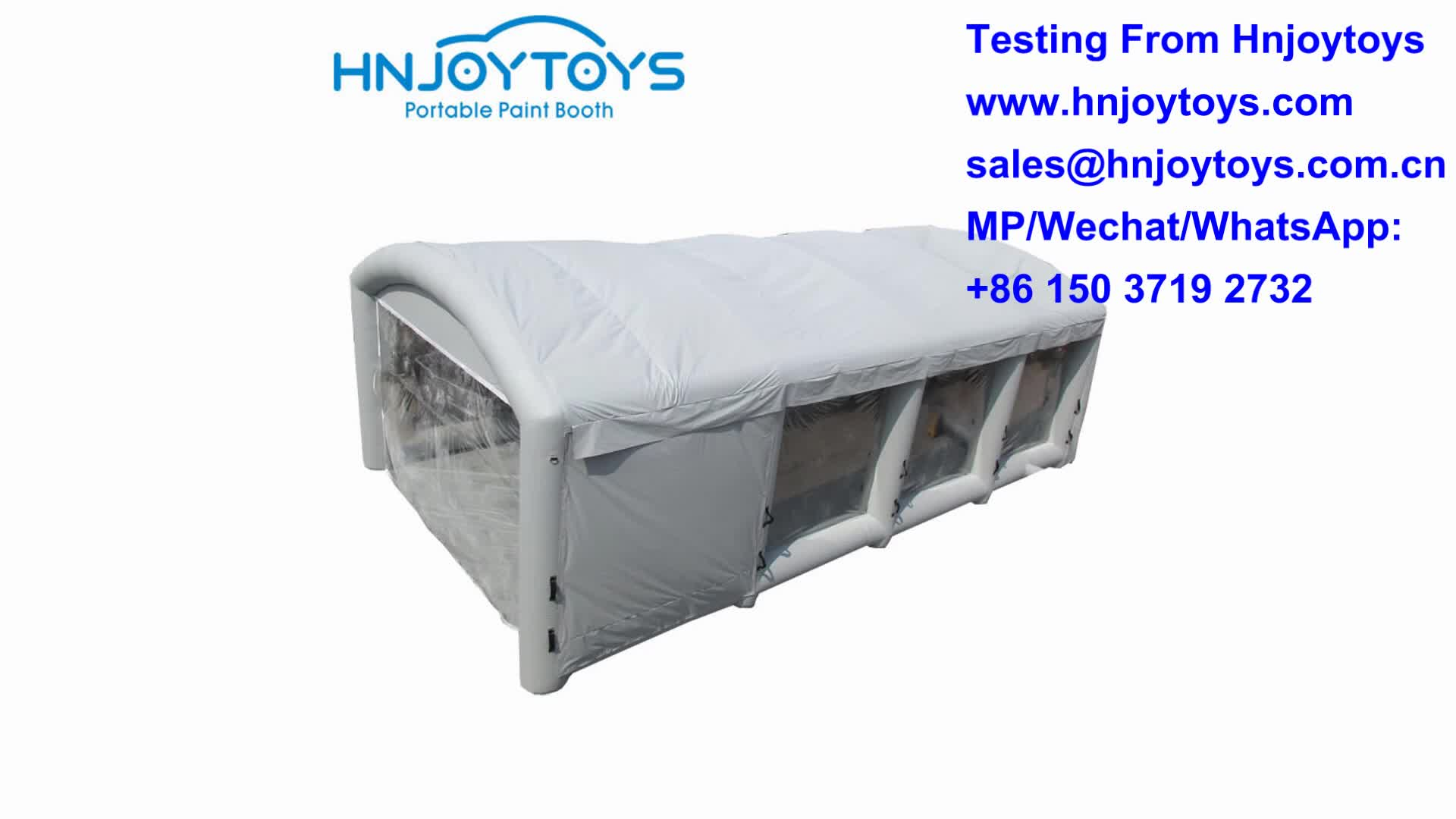 Hot sale 2019 hot sales paint booth, automotive inflatable paint booth for car painting cheaper