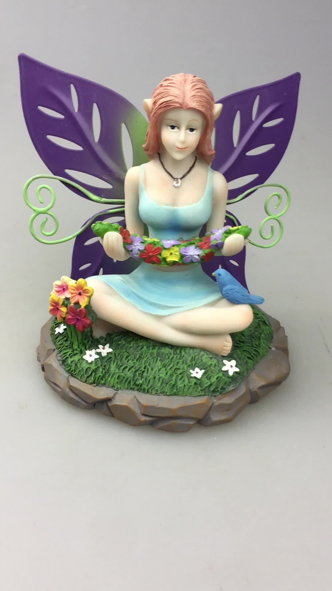 Anemone Yoga Fee Statue und Figuren