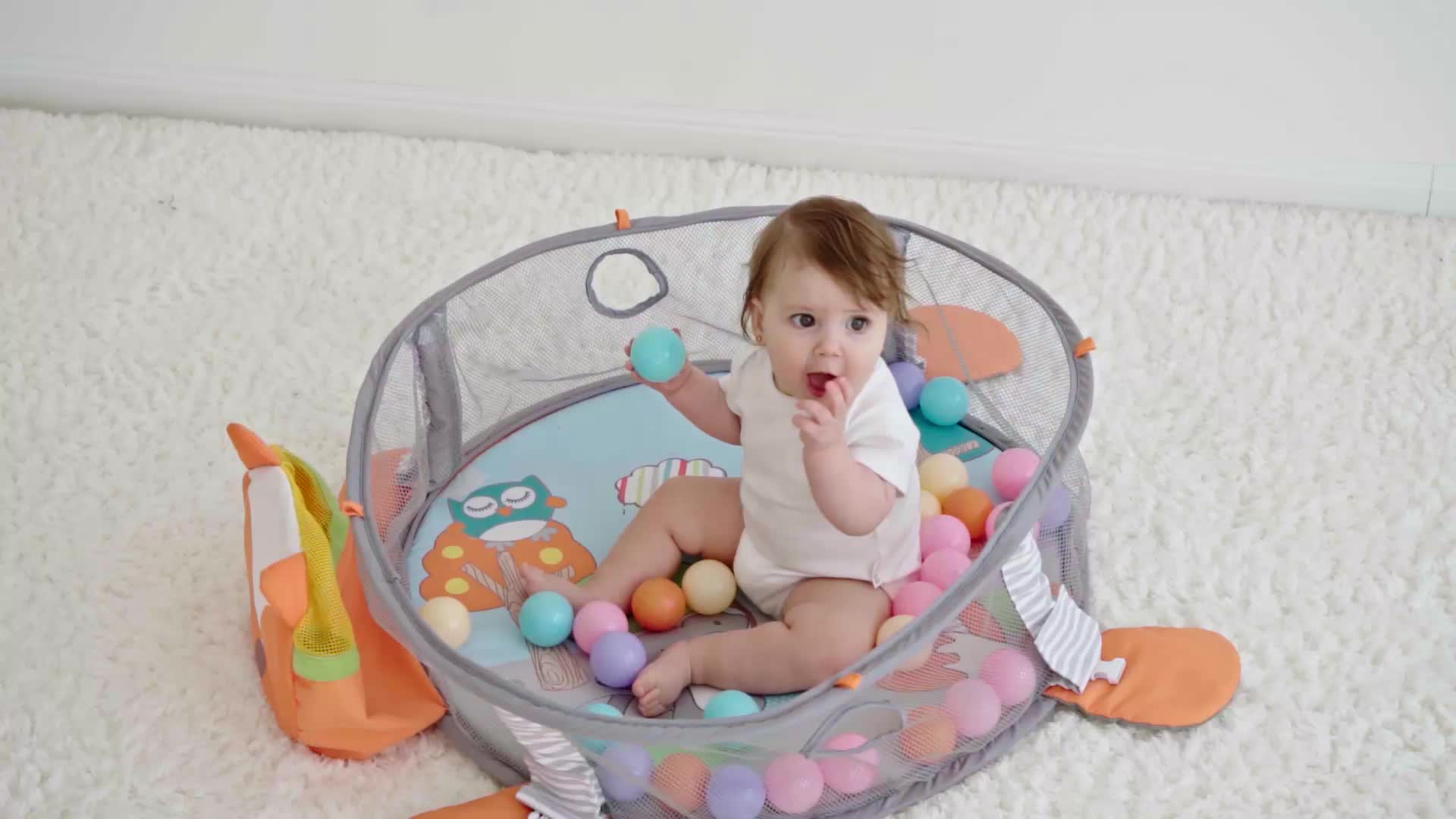 Educational Indoor Soft Play Gym 5in1Your Way Ball Play Activity Gym Musical Baby Activity Gym