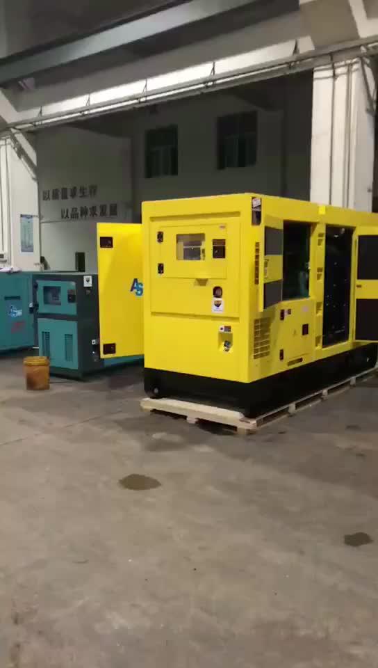 1500 rpm/1800 rpm מנוע וייפנג 40KW/50KVA ZH4105ZD מחיר דיזל genset שקט