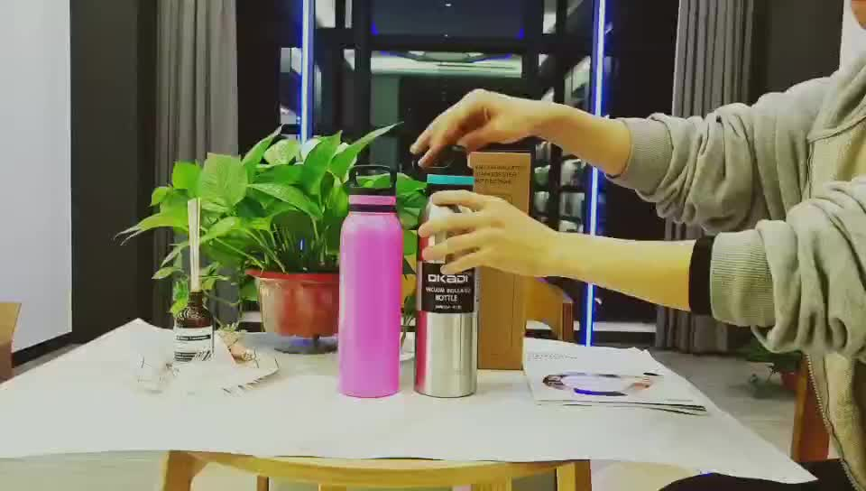 32OZ double wall the best vacuum insulated stainless steel water bottle metal thermos flask stainless steel sports water bottle