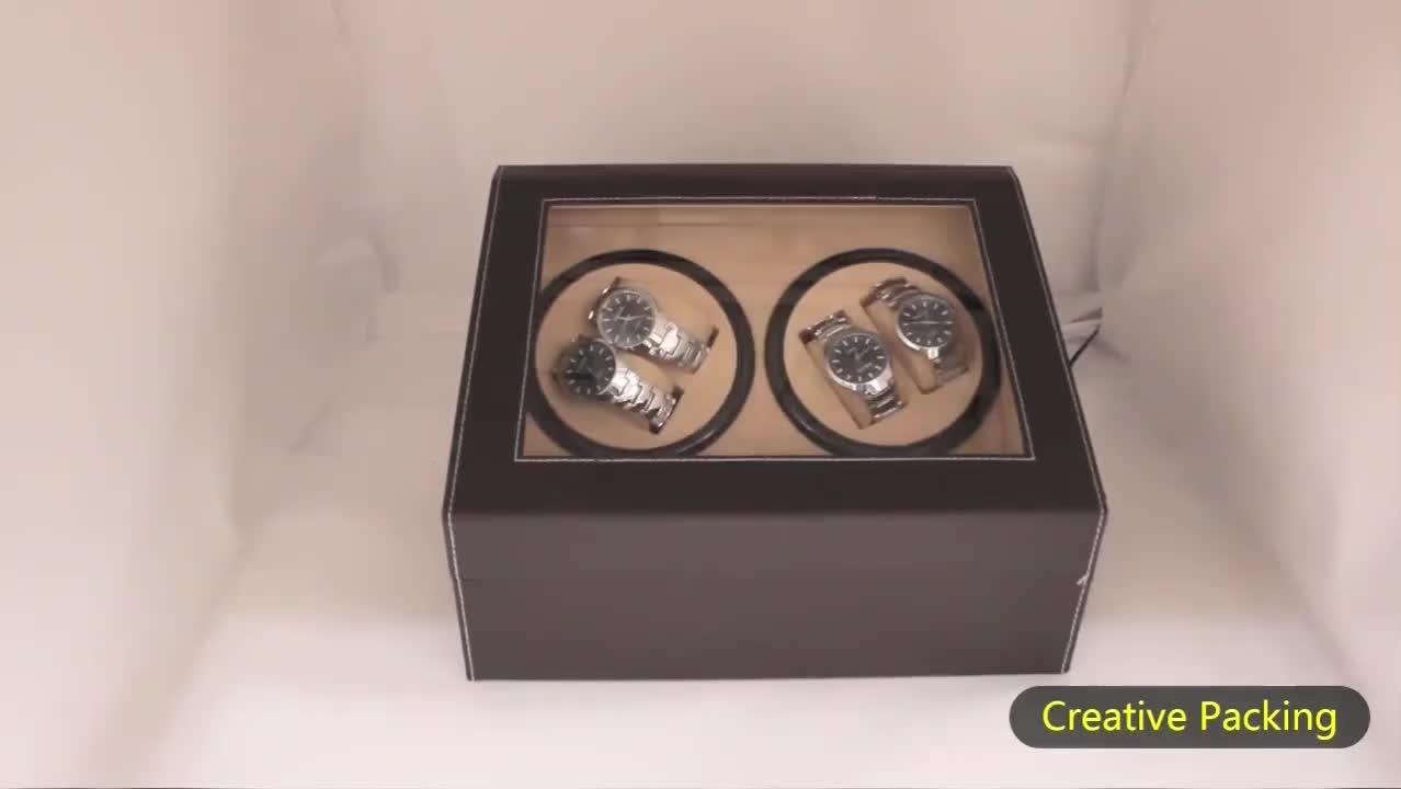 Animal Fake Leather Wholesale China Single Automatic Watch Winder