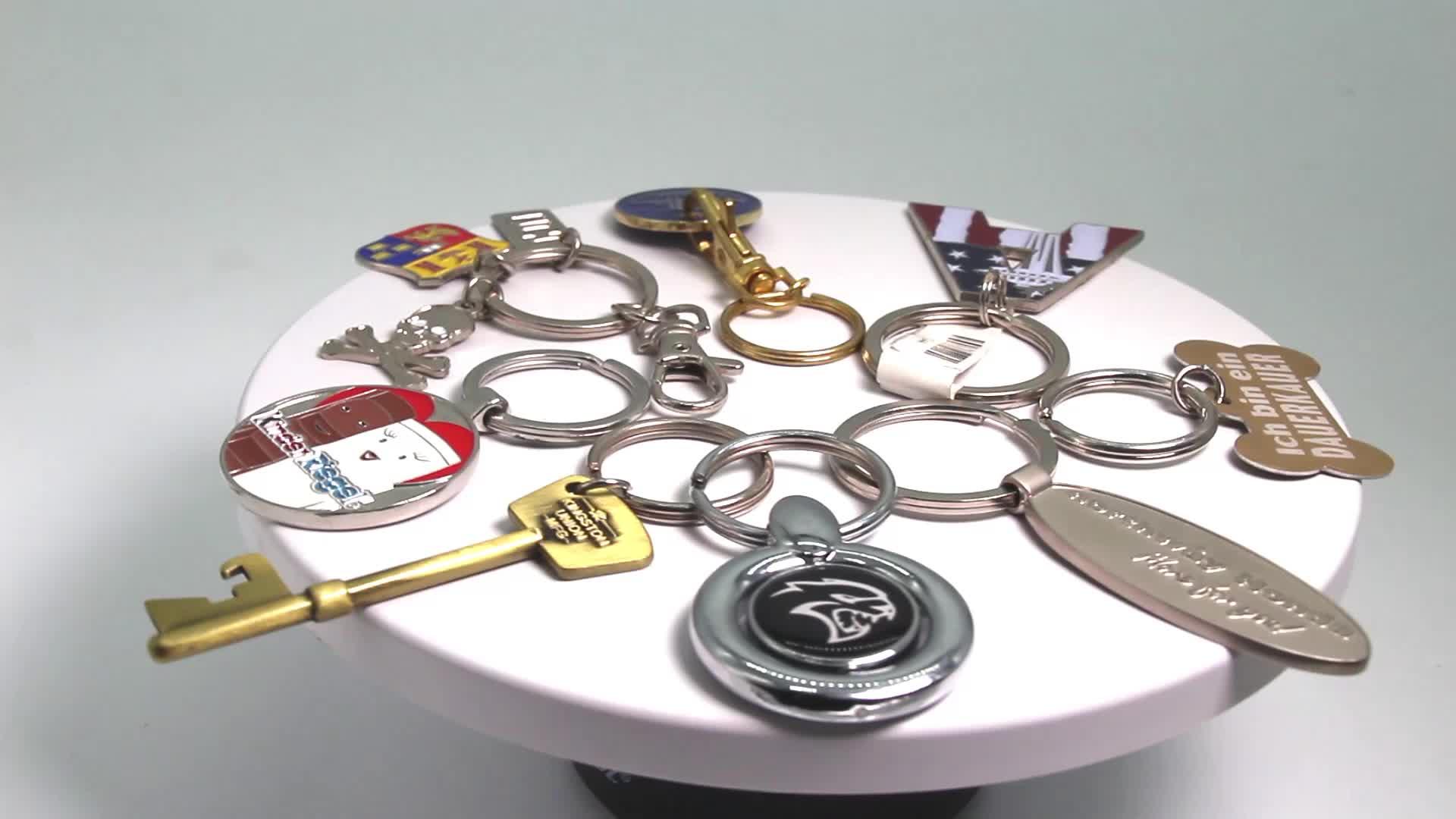 سلاسل المفاتيح الصين صانع فارغة السائبة مفتاح ميدالية مفاتيح ذات حلقة حامل شعار مخصص سلسلة المفاتيح