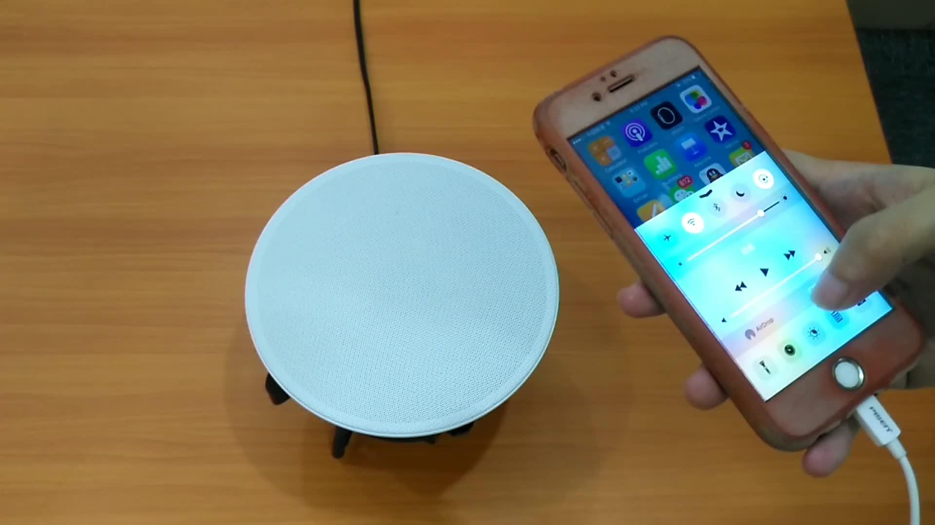 Akıllı Ev Kablosuz Ses WIFI Tavan hoparlör Çoklu oda Hoparlör App kontrolü Ile