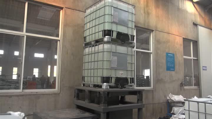 China manufacture good price 1000L HDPE IBC tank